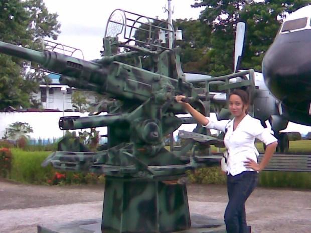 aubu sa machine gun (tama ba?)